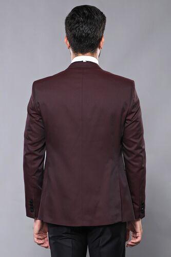 Yelekli Bordo Damatlık Takım Elbise   Wessi