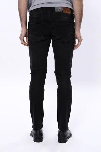 Eskitmeli Siyah Kot Pantolon   Wessi