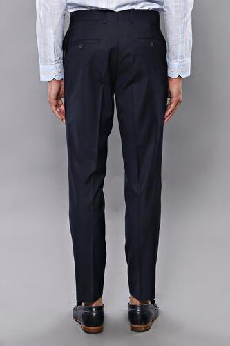 Düz Lacivert Kumaş Pantolon | Wessi