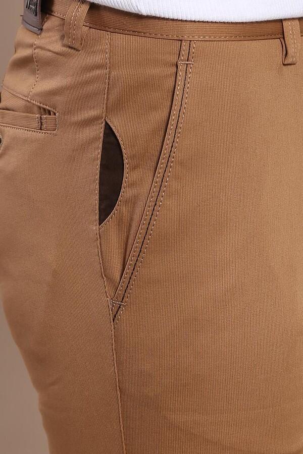 Yan Cepli Taba Pamuk Pantolon | Wessi