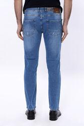 Yıkamalı Mavi Kot Pantolon | Wessi - Thumbnail